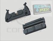 Conector Latch Idc 20 Vias P/ Flat - Fc20 - Pct.10pçs.