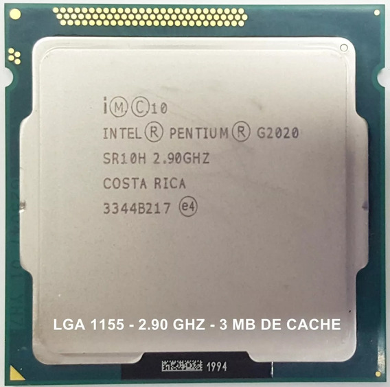 Intel® Pentium® G2020 /2.90 Ghz /lga1155 /3ºg Com Cooler.