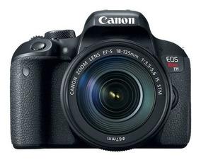 Câmera Canon Rebel T7i Dslr 18-135mm Is Stm-pronta Entrega