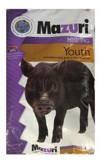 Alimento Mazuri Mini-pig Youth - Envío Gratis