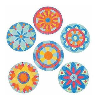 Cuadros De Arte Con Arena De Mandala Con Imanes (2 Docenas P
