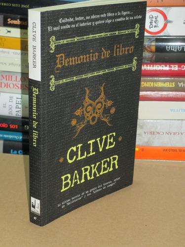 Demonio De Libro Clive Barker La Factoría De Ideas Mercado Libre