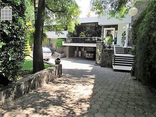Casa En Venta Pedregal Con Gran Jardin Y Terraza