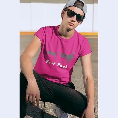 Imagem 1 de 2 de Camiseta Fast Food