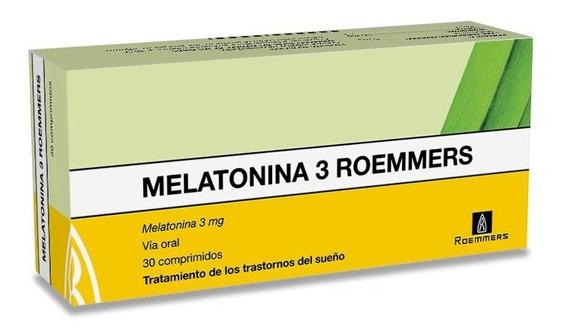 Melatonina 3 Mg X 30 Comprimidos