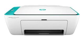 Impresora a color multifunción HP DeskJet Ink Advantage 2675 con wifi 100V/240V blanca y azul