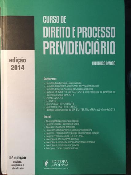 Curso De Direito E Processo Previdenciário 2014 Frete Gratis