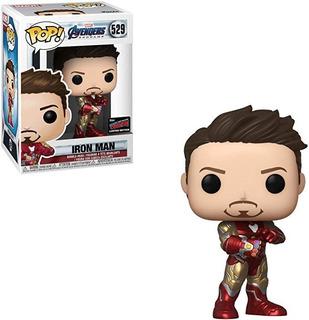 Funko Pop Iron Man Con Gauntlet 529 - Nycc Exclusive
