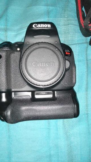 Câmera Seminova Cânon T5i Em Bom Estado