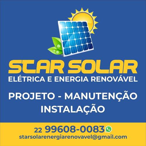Projeto E Instalação Placa Solar