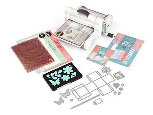 Maquina De Troquelado Y Estampado Manual De Kit De Inicio Si