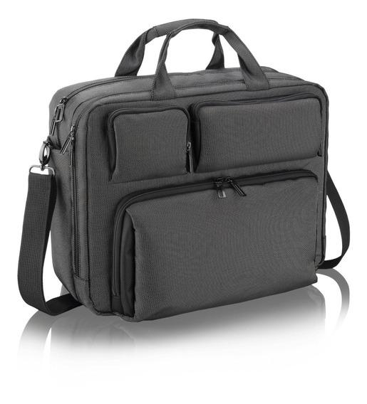 Pasta Executiva Masculina Smartbag Notebook De 15,6 Multilaser Cinza Bo200