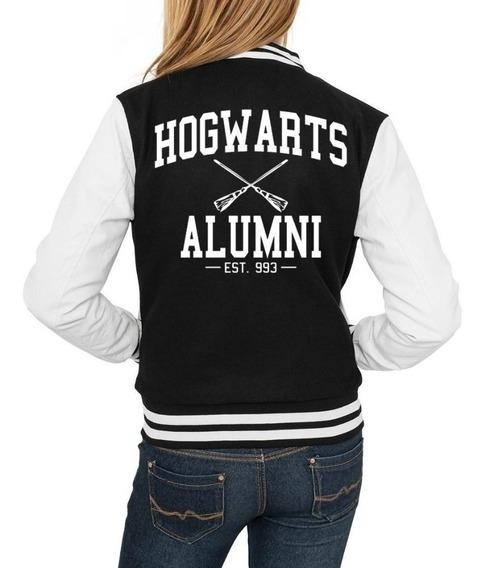 Jaqueta Feminina Harry Potter Casaco Moletom Blusa De Frio