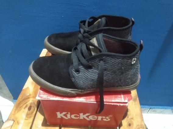 Zapatillas Y Botitas Kickers Dos Pares