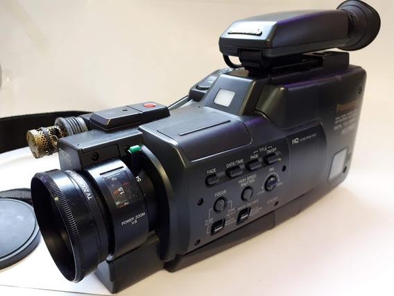 Filmadora Panasonic M33 Vhs C Completa C/ Todos Acessórios