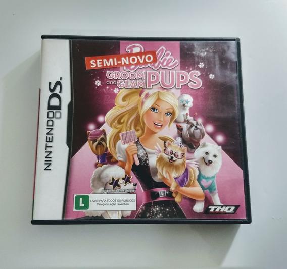 Barbie Groom And Glam Pups Nintendo Ds - Impecável Americana !! 12 X Sem Juros !!!
