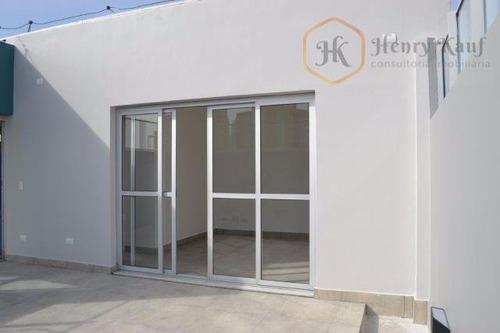 Imagem 1 de 17 de Oportunidade!!!linda Cobertura Com 200m2 - 4 Dormitórios(2suítes) E 2 Vagas!!!- V.mariana - Co0047