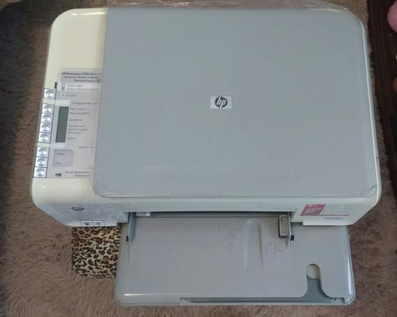 Impressora Multifuncional Scanner Xerox Hp Photosmart C3180