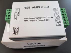 Amplificador Rgb Dc 12-24v 20 A