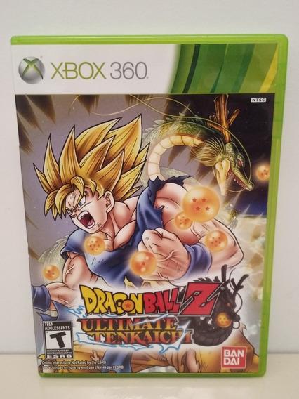 Dragon Ball Z Ultimate Tenkaichi Xbox 360 M/fisica Original