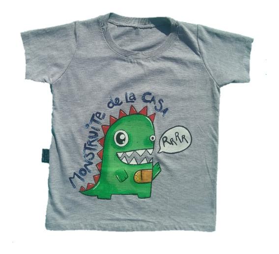 Remera Unisex Dino Min