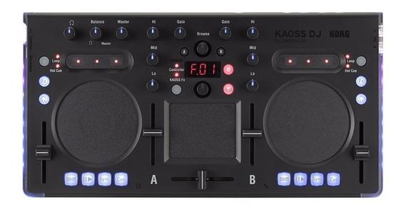 Módulo Controlador P/ Dj Kaoss Dj Com Interface De Áudio