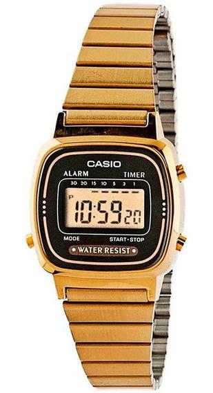Relógio Casio Original Feminino Vintage La670wga-1df