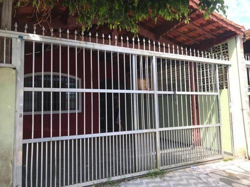 Casa 2 Dormitórios Para Venda Em Praia Grande, Maracanã, 2 Dormitórios, 1 Suíte, 2 Banheiros, 2 Vagas - 344_1-1834320