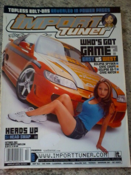Revistas Importada Import Tunner/automoveis/turbos - It1