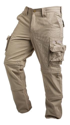 Pantalón Doble Desmontable Cargo Secado Rápido Duo Ripstop