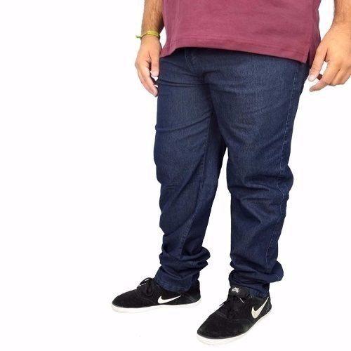 Calça Jeans Kit 2 Pçs Lycra Masculina46/48/52/54