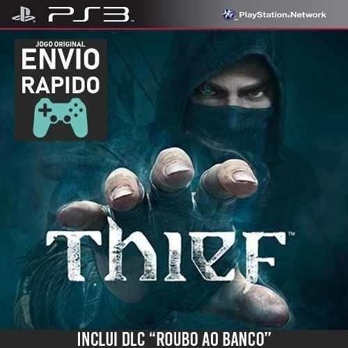 Thief + Dlc Assalto Ao Banco Jogos Ps3