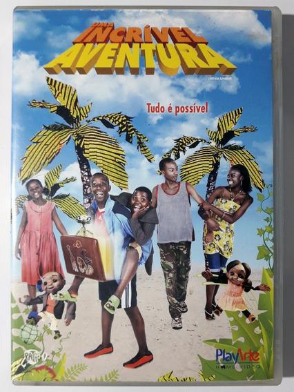 Dvd Uma Incrível Aventura Africa United Original
