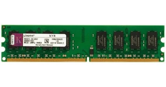 Memoria Kingston Ddr2 1gb 667mhz 1,8 V Kvr667d2n5