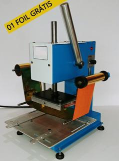 Máquina De Gravação Hot Stamp Capa Dura Encadernação Couro