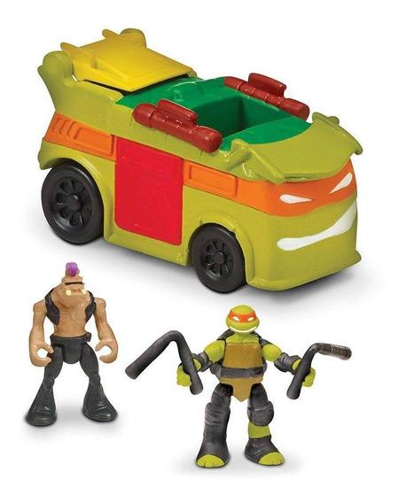 Tortugas Ninja Vehículo Micro Mutants
