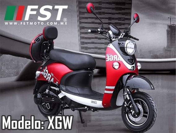 Moto Scooter Electrico Fst Xgw (tipo Vespa)