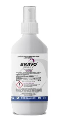 Bravo Spray Antipulgas 100 Ml Perros Y Caballos Halvet