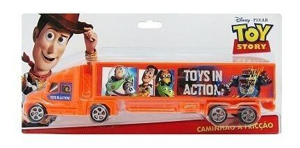 Caminhao A Friccao Toy Store Azul Ou Laranja Toyng