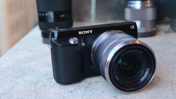 Câmera Sony Nex F3 - Corpo Somente
