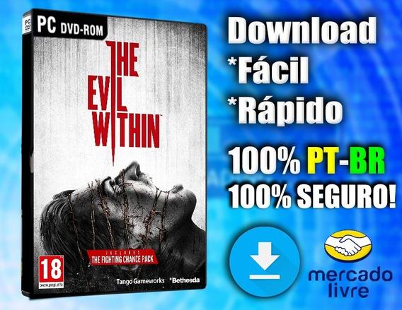 The Evil Within - Pc Completo Em Português Midia Digital