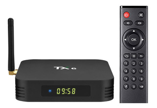 Tv Box Tu Tv En Smart Tx6 4gb /32gb Bluetooth Android 9
