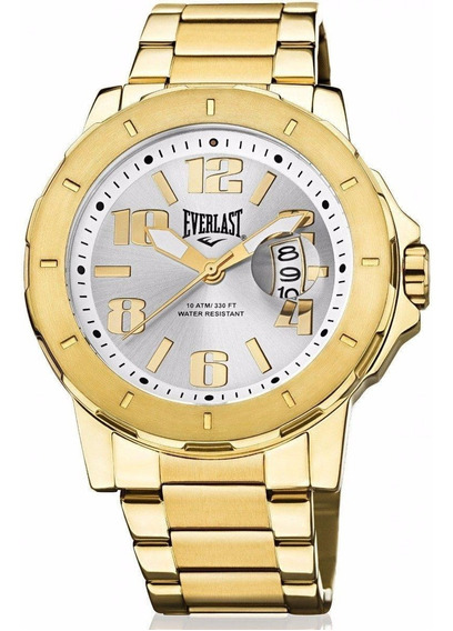 Relógio Analogo Everlast E643 Dourado