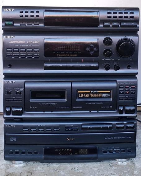 Somente Aparelho Som Sony Lbt A495 (leia Descrição Anúncio)