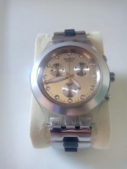 Reloj Swatch Diaphane Silver