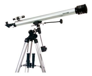 Telescopio Galileo 900x60 Ecuatorial Aumento 675 Con Tripode