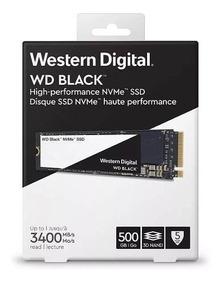 Ssd M2 Western Digital 500gb Black Pcie 3400 Mb/s