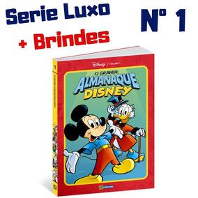 Grande Almanaque Disney N 1 Luxo Lançamento Disney 2019