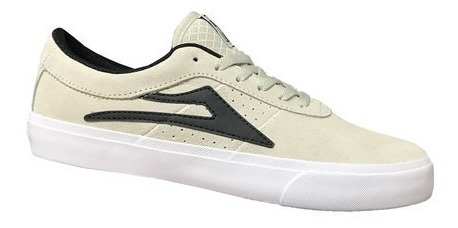 Tenis Lakai Sheffield Sd White/black Suede 11219 Original