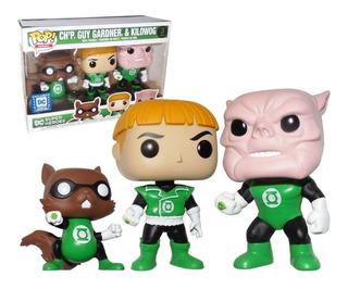 Funko Pop - Batman - Q Fig - Green Lantern - Linterna Verde